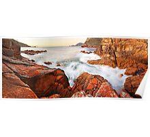 Sleepy Bay Sunrise, Freycinet National Park, Australia Poster
