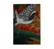 Crane Flys East Art Print