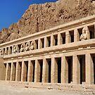 Hatshepsut Temple.. by Michelle McMahon