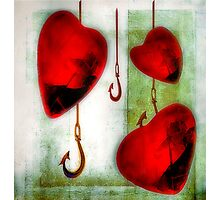 Hearts And Hooks Photographic Print