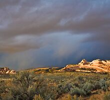 Storm Over the Ships Trail by Kim Barton