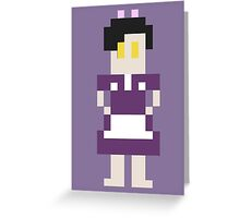 8-Bit Little Sister Greeting Card