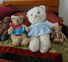 Ok we are up and dressed .where's the honey? by Virginia McGowan
