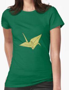 YellOw Crane Womens Fitted T-Shirt