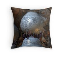 Electrically Charged  Throw Pillow