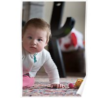 Portrait of Siena at 7 Months Poster