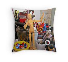 Imagination's Playground Throw Pillow