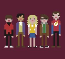 Big Bang Theory 8-bit by Evelyn Gonzalez
