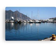 Beach- Muizenburg, Cape Town Canvas Print