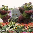 Posing Plants-Disneyland, Hong Kong by ewboraine