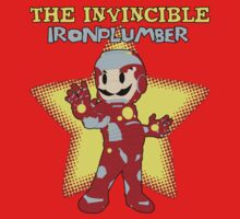 The Invincible Iron Plumber (Variant) by infinitejump