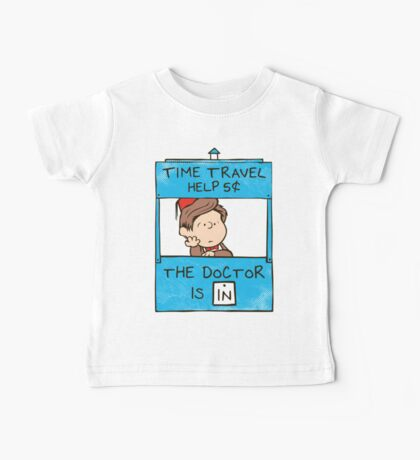 The Doctor Is In Baby Tee