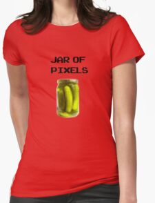 Jar of Pixels Womens Fitted T-Shirt