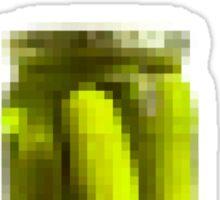 Jar of Pixels Sticker