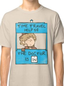 The Doctor Is In Classic T-Shirt