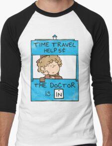 The Doctor Is In Men's Baseball ¾ T-Shirt