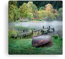 Loch Ard Dawn Canvas Print