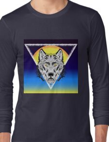 Wolf and the Sun Long Sleeve T-Shirt