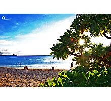 love @ the beach (hdr) Photographic Print