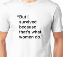 Kimmy | I Survived Unisex T-Shirt