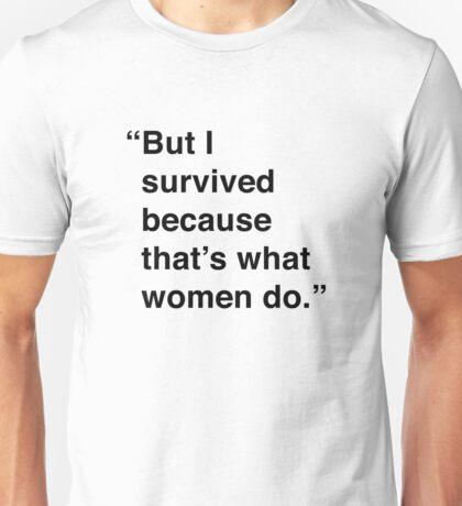 Kimmy | I Survived Unisex T-Shirt