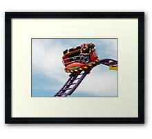 Fun and fear at the Eindhoven fair Framed Print