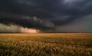 Shelf Cloud Near Nash, Oklahoma by MattGranz