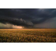 Shelf Cloud Near Nash, Oklahoma Photographic Print