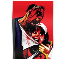 Zombie Vampire Nurse Poster