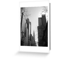 Chrysler Perspective Greeting Card