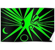 Midnite n Green Poster