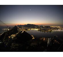 Rio Sunset  Photographic Print