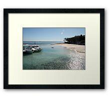 Heron Island. Framed Print