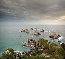 Sunset below Nugget Point by Emma Stone