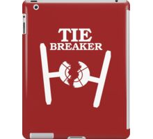 TIE BREAKER white iPad Case/Skin