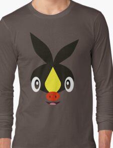 Pokemon - Tepig / Pokabu Long Sleeve T-Shirt