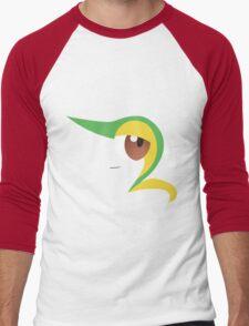 Pokemon - Snivy / Tsutarja Men's Baseball ¾ T-Shirt