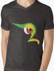 Pokemon - Snivy / Tsutarja Mens V-Neck T-Shirt