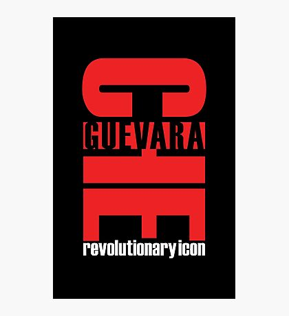 """Che Guevara: Revolutionary Icon"" Photographic Print"
