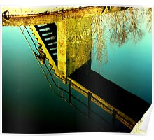 """""""CANAL REFLECTIONS"""" Poster"""