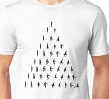 Silly Walk Pyramid Unisex T-Shirt