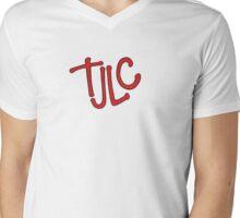 TJLC Mens V-Neck T-Shirt