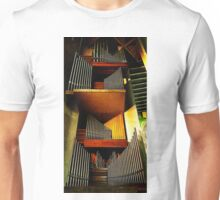 Organ pipes, Coventry Cathedral 2 Unisex T-Shirt