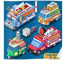 Food Truck Collection Poster