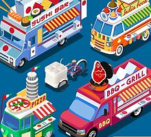 Food Truck Collection by aurielaki