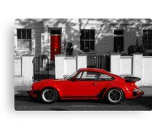 Red Door vs Turbo Canvas Print