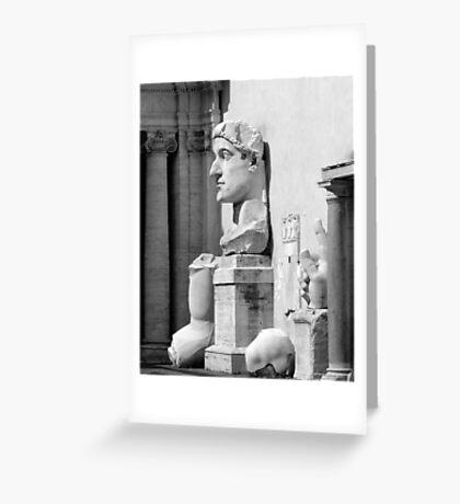 Ave Caesar Greeting Card