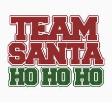 Team Santa Claus ho ho ho Kids Tee