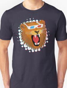 3D Lion Unisex T-Shirt
