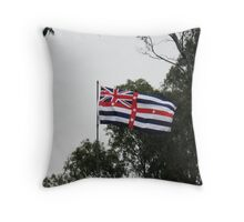 An Unusual Australian Flag Throw Pillow